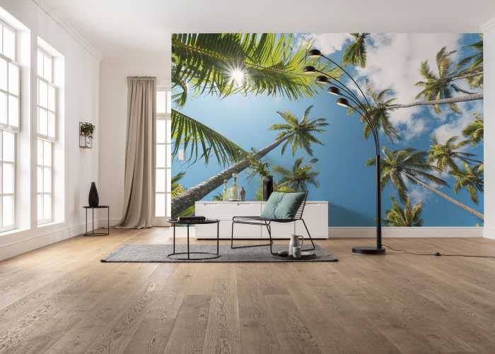 Digital wallpaper Coconut Heaven II