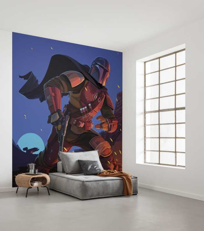 Digital wallpaper Star Wars The Mandalorian Big Ambush