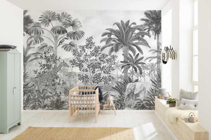 Digital wallpaper Jungle Evolution