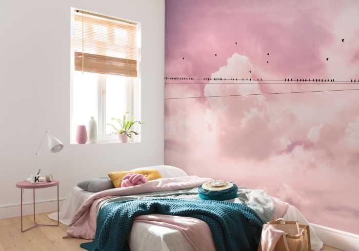 Digital wallpaper Cloud Wire