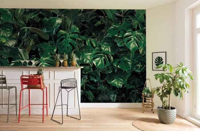 Digital wallpaper Tropical Wall