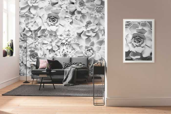 Digital wallpaper Shades Black and White