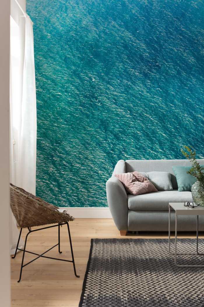 Digital wallpaper Blaupause