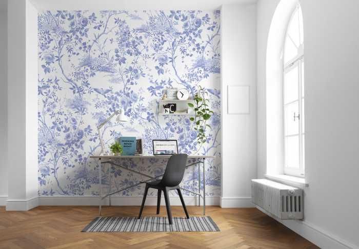 Digital wallpaper Charming Bloom