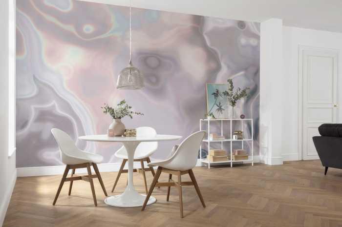 Digital wallpaper Shimmering Waves