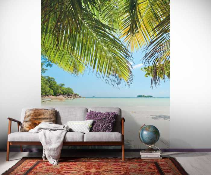 Digital wallpaper Under The Palmtree
