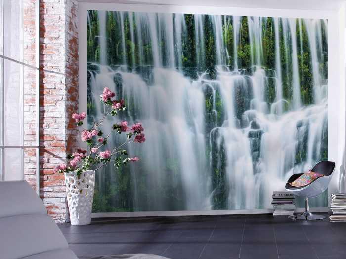 Digital wallpaper Ensemble of Veils