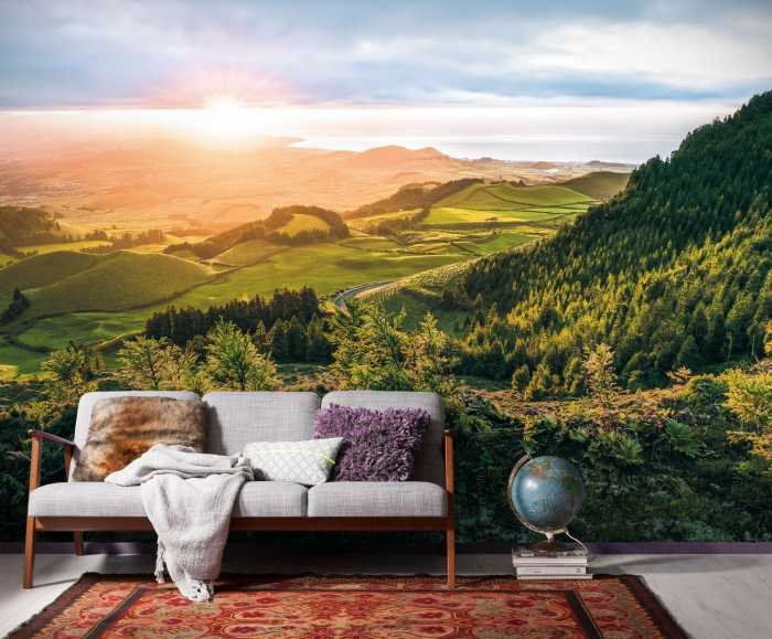 Digital wallpaper Paradise Island