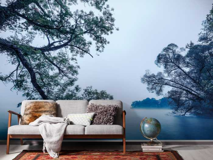 Digital wallpaper Blue Waters