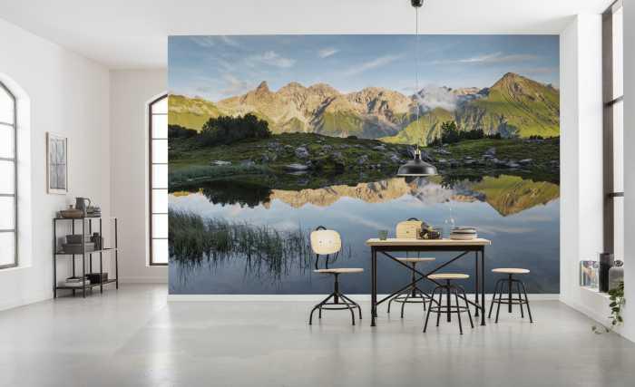 Digital wallpaper Allgäu Spiegel