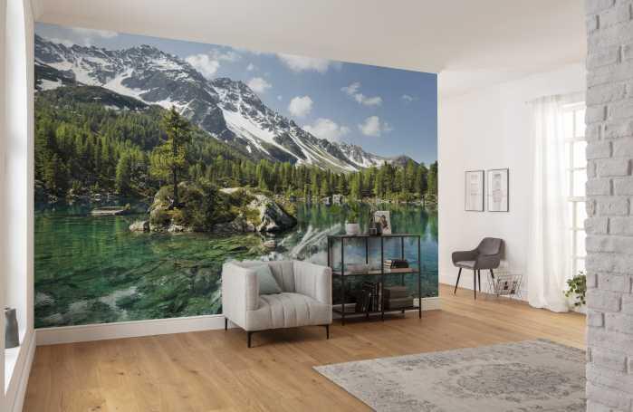 Digital wallpaper Bergmagie