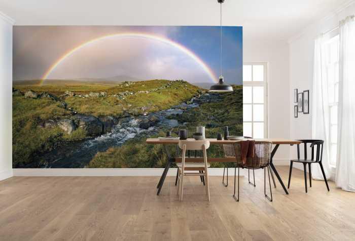 Digital wallpaper Coloured Faeroer