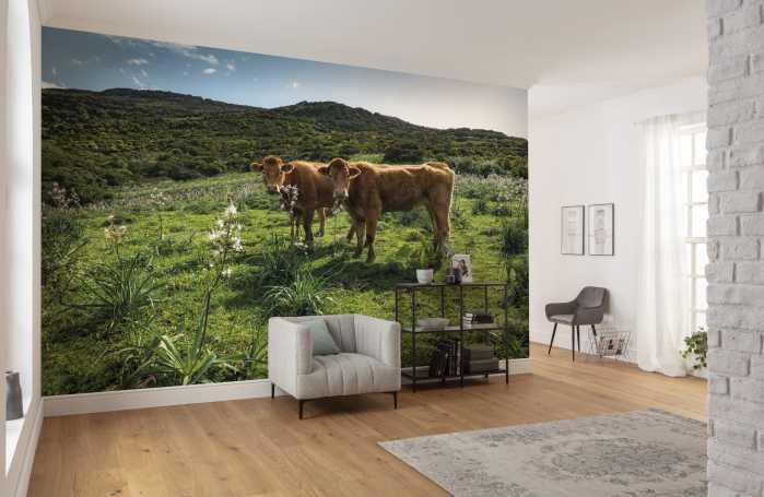 Digital wallpaper Kuhparadies