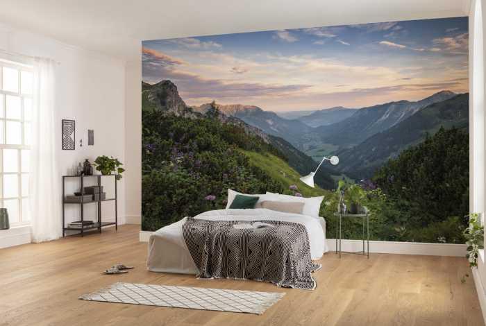 Digital wallpaper Naturpark Allgäuer Hochalpen