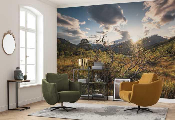 Digital wallpaper Norwegische Herbstwelten
