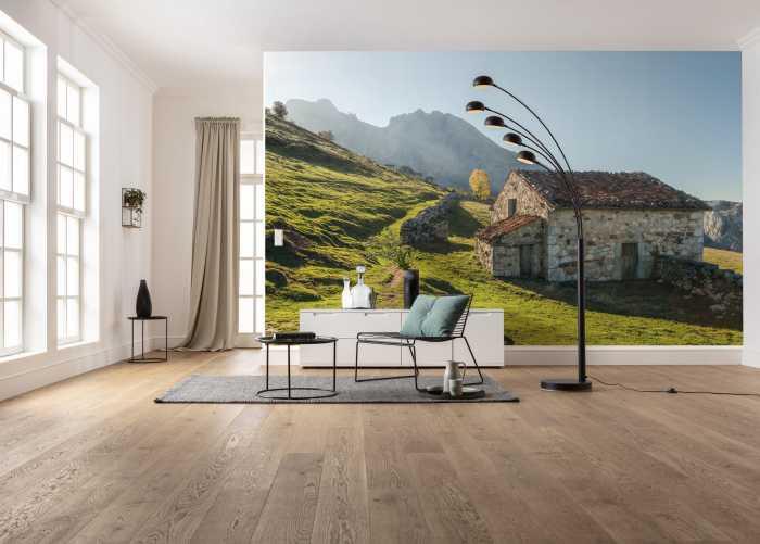 Digital wallpaper Picos de Europe Alm