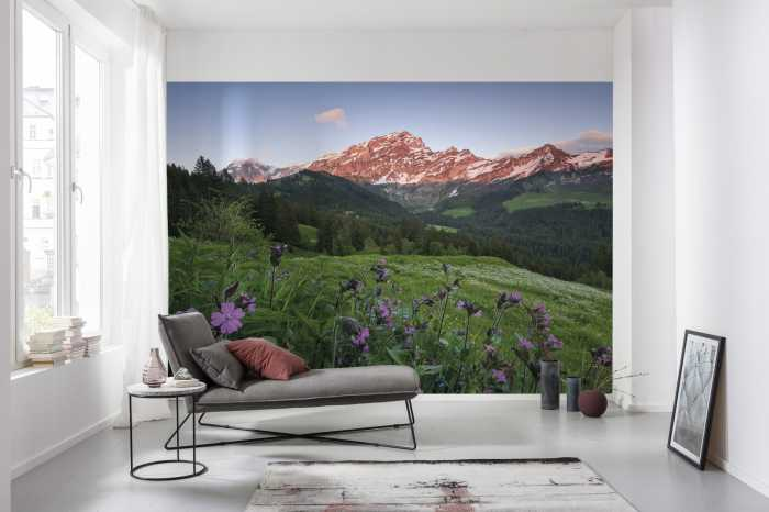 Digital wallpaper Picturesque Switzerland