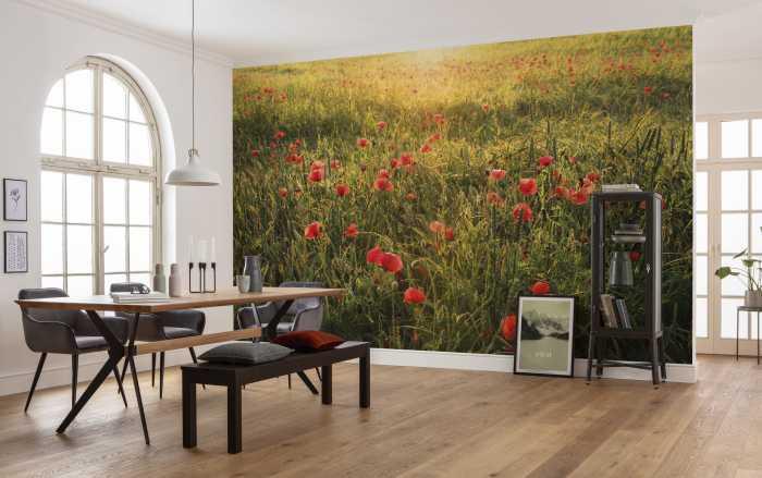 Digital wallpaper Poppy World I