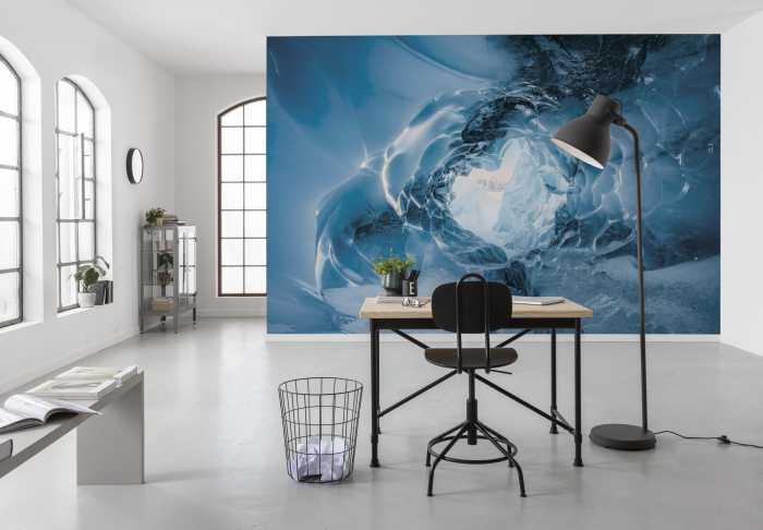 Digital wallpaper The Eye of the Glacier