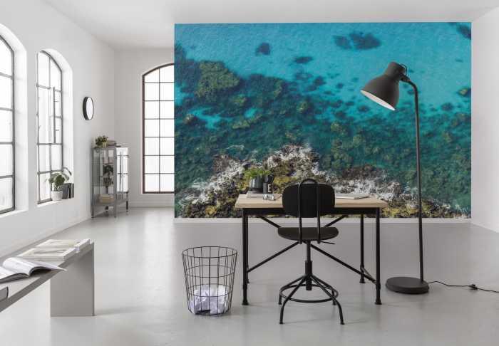Digital wallpaper Bright Blue