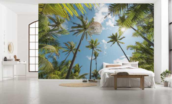 Digital wallpaper Coconut Heaven