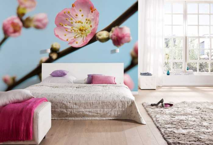 Digital wallpaper Peach Blossom