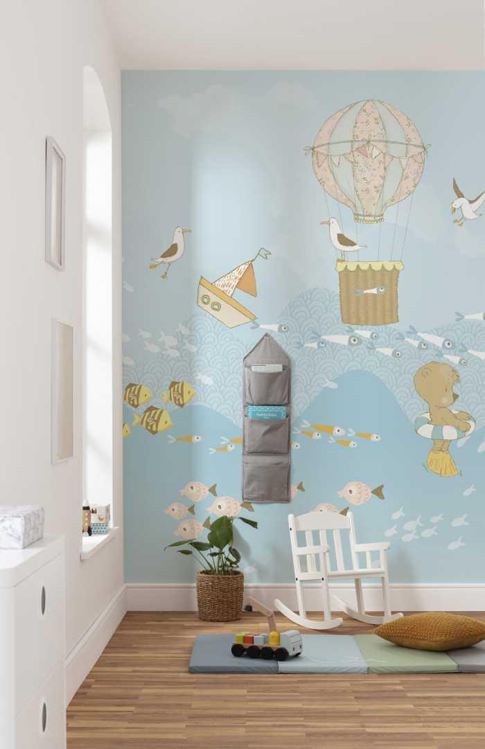 Digital wallpaper Wavy Venture