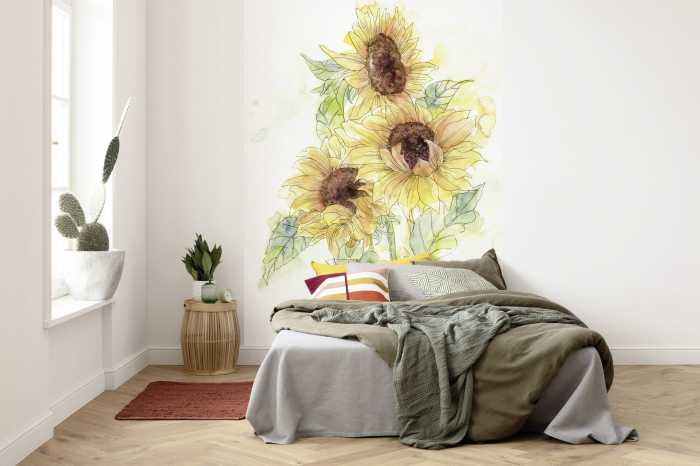 Digital wallpaper Girasol