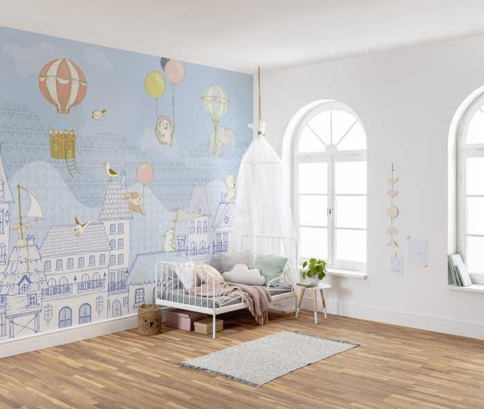 Digital wallpaper Rooftop Ralley
