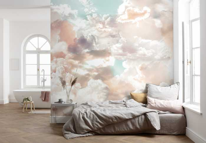 Digital wallpaper Mellow Clouds