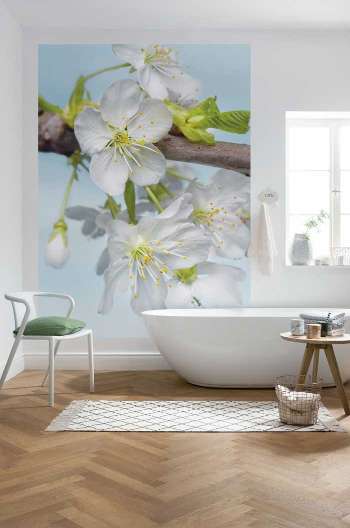 Non-woven photomural Blossom