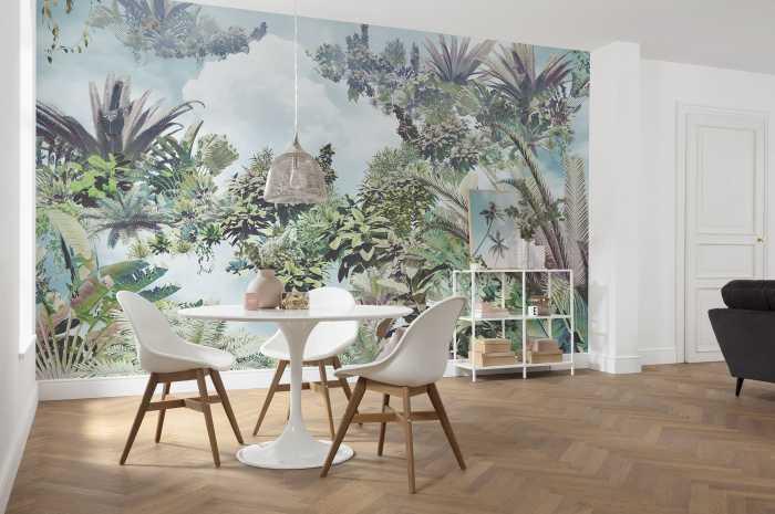 Non-woven photomural Tropical Heaven