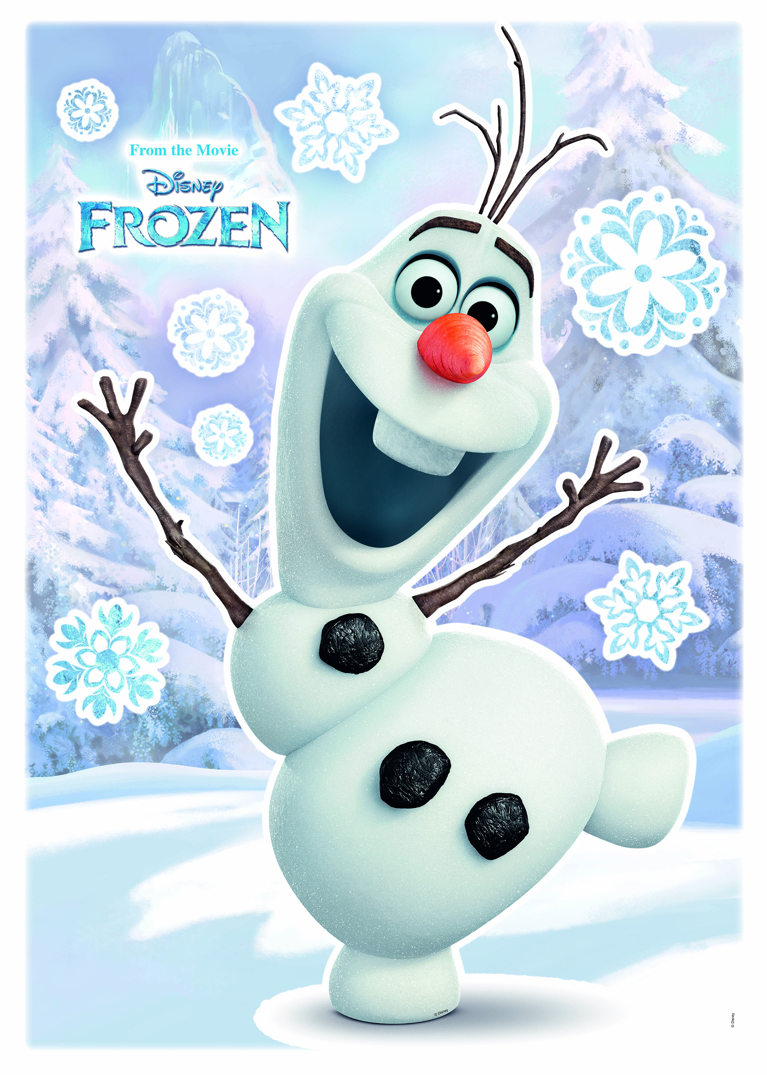 Wall Tattoo Quot Olaf Quot From Disney Photomural Com