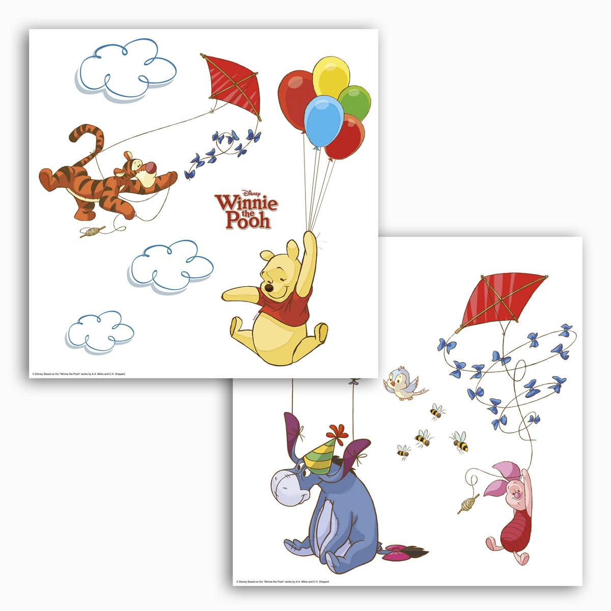 """Window Sticker """"Winnie the Pooh"""" in Kunststoffbeutel"""