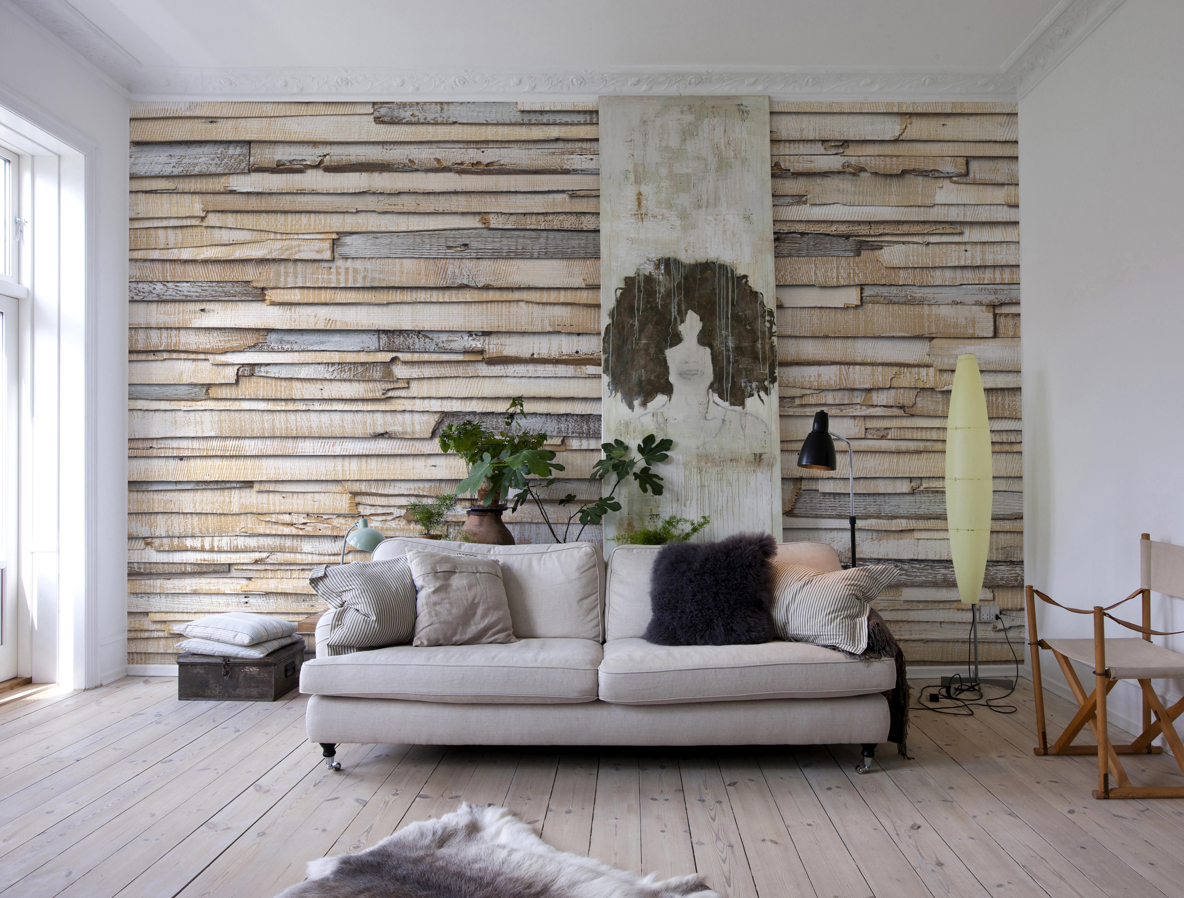 Whitewashed Wood