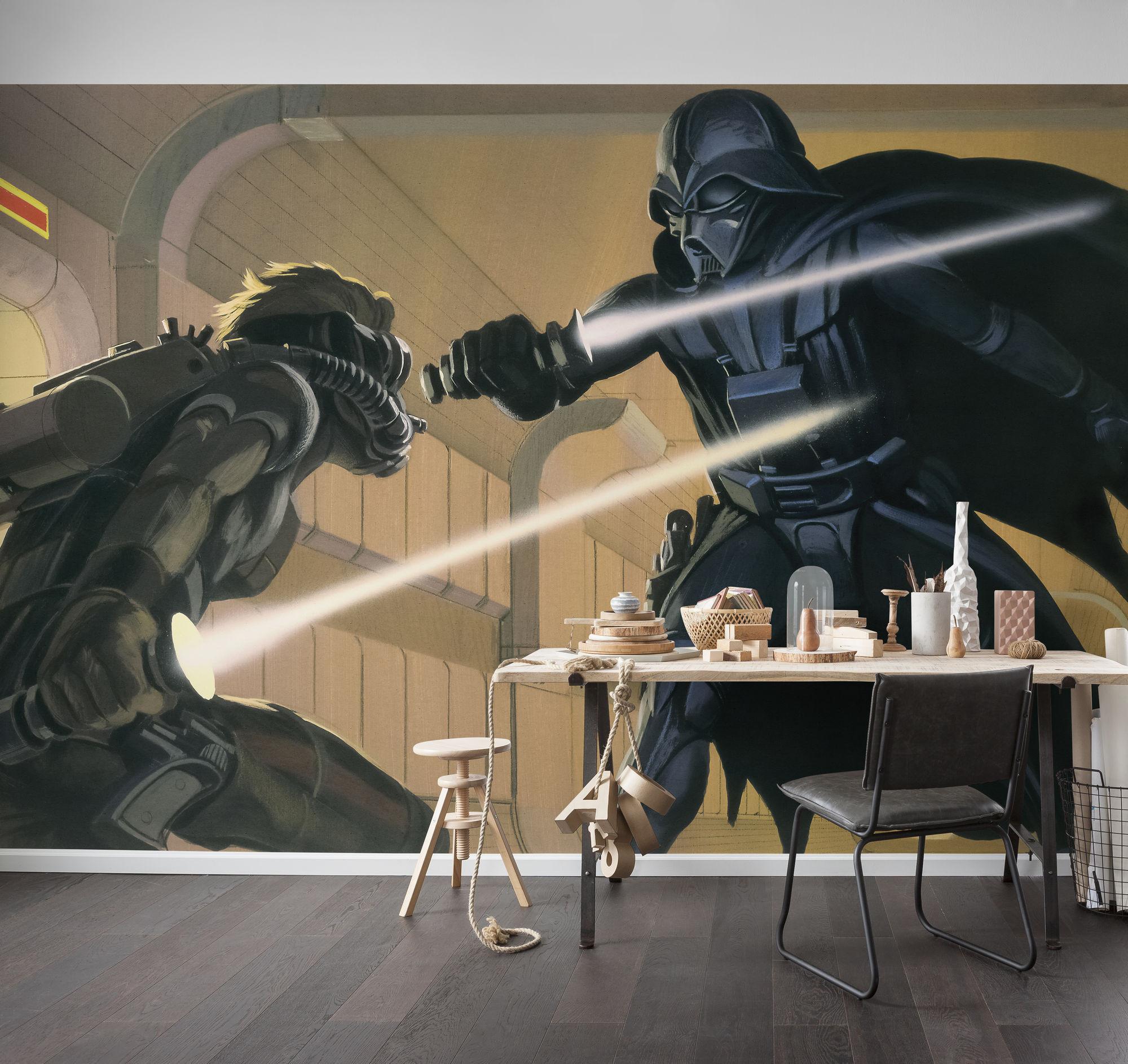 Star Wars Classic RMQ Vader vs Luke