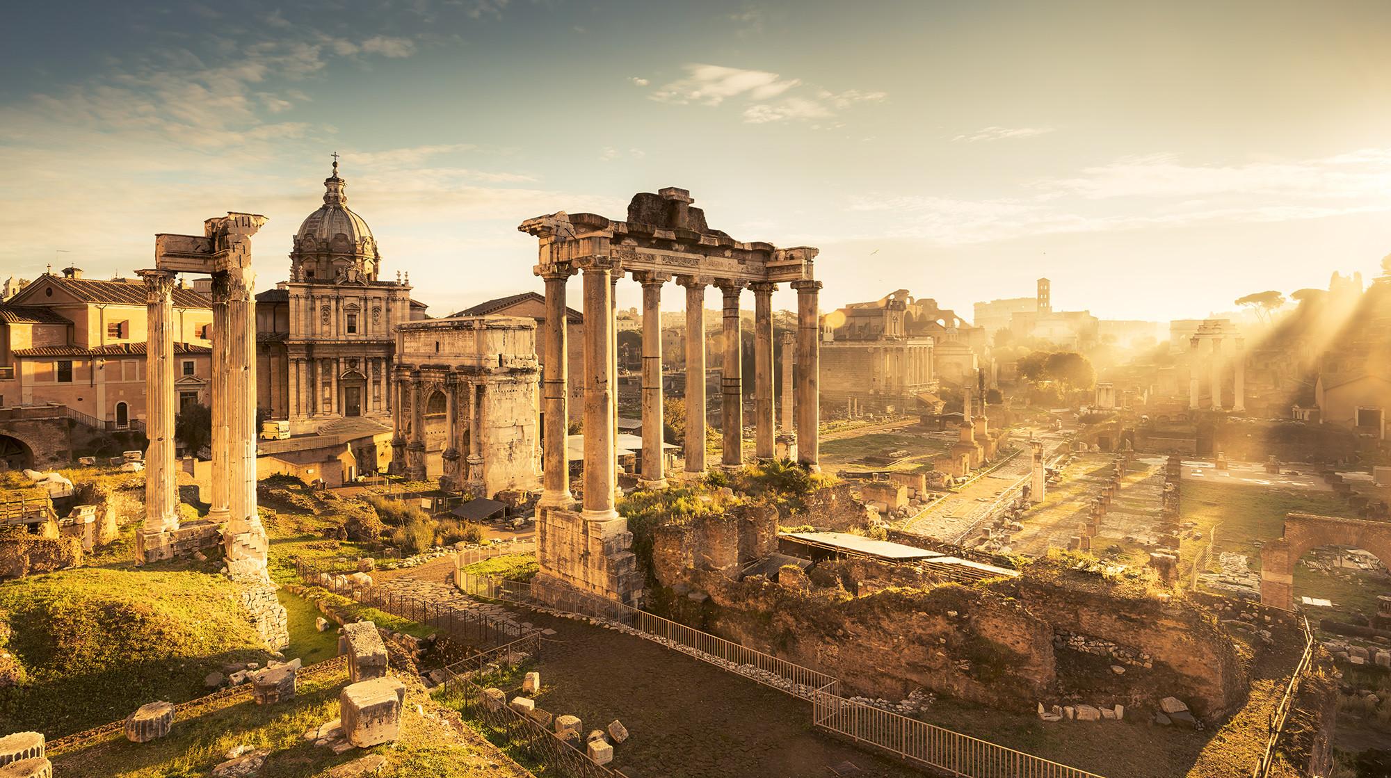 City in History: Forum Romanum